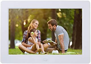 Electric Photo Frames with USB, 8 Inch IPS Screen 16:10 Widescreen HD Picture Album Support MP3 MP4 Video Player Clock Cal...