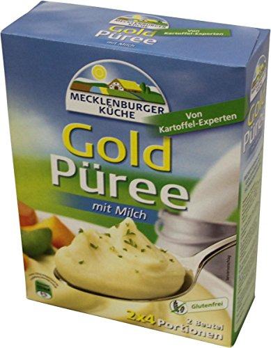 Mecklenburger Küche Goldpüree mit Milch 2x4 Portionen 110g