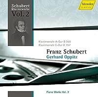 シューベルト:ピアノ作品集 Vol.2 (Schubert: Piano Works Vol.2 / Gerhard Oppitz (Piano))