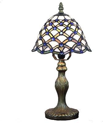 Lámparas de mesa vintage de Tiffany, (8 pulgadas) Forma de ...