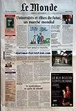 MONDE (LE) [No 18877] du 02/10/2005 - DARFOUR - LE TCHAD MENACE DE DESTABILISATION - ALGERIE - LE MENSONGE DE...