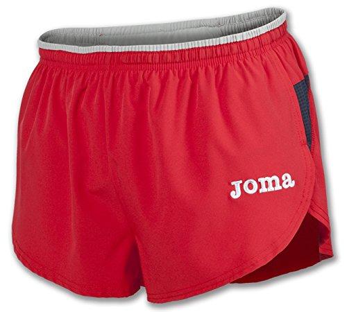 Joma Elite Pantalones Cortos, Unisex Adulto, Rojo, 2XL