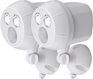 NetBright MBN391 Wireless Networked Battery Motion Activated Spot Light 2 Pk (White)