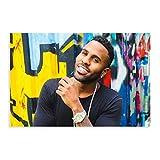 Sänger Jason Derulo Star Poster 34 Leinwand Poster