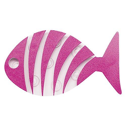 Differnz 31.003.00 Deco-tapijt, Stripe Fish Mini, roze