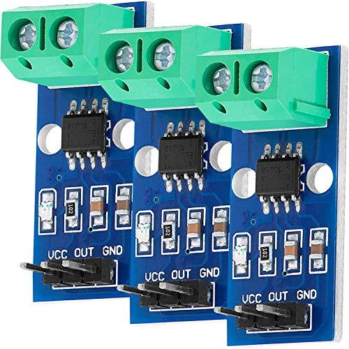 AZDelivery 3 x ACS712 30A Ampere Stromsensor Range Modul Current Sensor kompatibel mit Arduino inklusive E-Book!