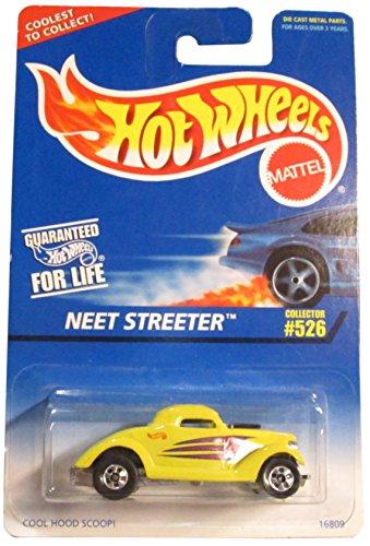 Hot Wheels #526 NEET Streeter Basic Wheels Medium HW Logo Condition Mattel 1:64 Scale