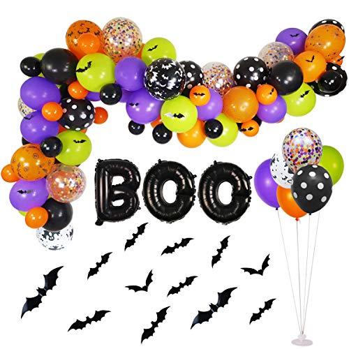 Halloween Balloons Garland Kit