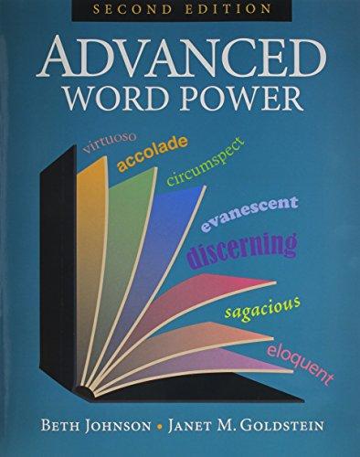 Advanced Word Power