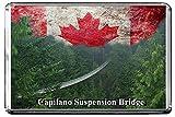 GIFTSCITY C326 CAPILANO SUSPENSION BRIDGE FRIDGE MAGNET CANADA TRAVEL PHOTO REFRIGERATOR MAGNET