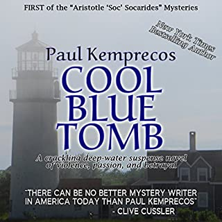 Cool Blue Tomb audiobook cover art