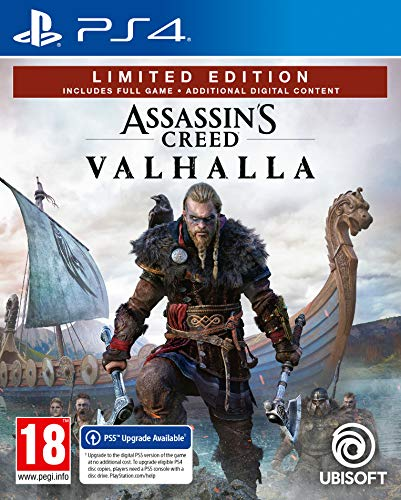 Assassin's Creed Valhalla - Limited Edition - Version PS5 incluse