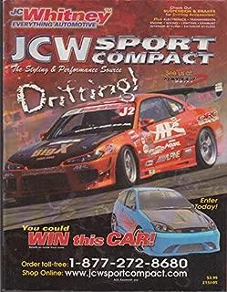 J C Whitney Automotive Parts Catalog Drifting Sport Compact Cars 2004