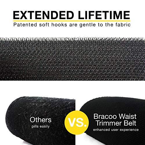 BRACOO Fitnessgürtel – Damen & Herren – Hot Belt – Schwitzgürtel – Waist Trimmer | Schnell & Einfach Abnehmen mit dem Bauchweggürtel - 3