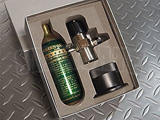 サンプロジェクト グリーンガス74g専用 メーター付きレギュレーターセット 圧力調整器 SP-12000 改良版