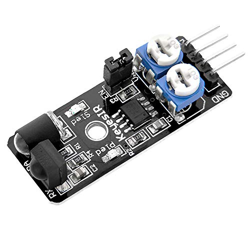 AZDelivery KY-032 IR Infrared Obstacle Avoidance Sensor Distance Sensing Module for Arduino including eBook