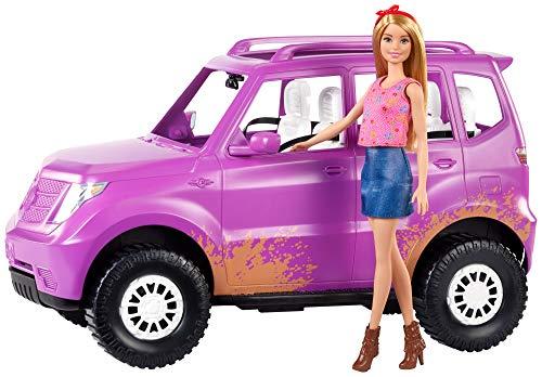 Barbie- Conjunto de vehículo y muñeca Sweet Orchard Farm (Mattel GHT18)