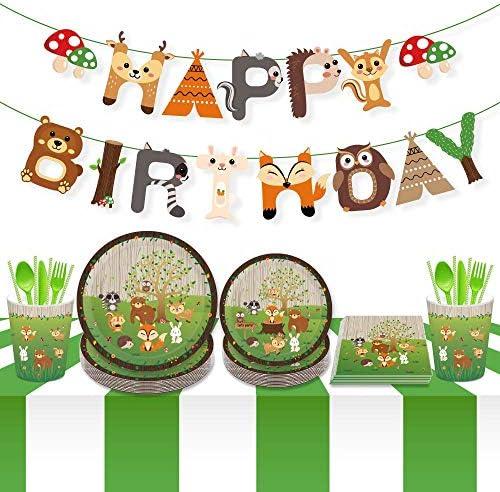 Woodland creature birthday party _image2