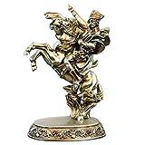 Figur Zen Ornamente Statue Napoleon Figur Statue, Napoleon Bonaparte Reiten Eine Pferdeskulptur Harz Handwerk 13 Zoll