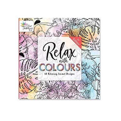 Adulte Coloriage Couleur Livres Calm Thérapie 30 Pages Animal Floral ou Motifs - Animaux