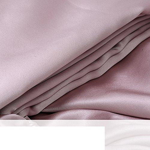 Find Bargain JIEJIEDE Satin Bed Sheets,Soft Silk Coverlet Hypoallergenic Breathable Wrinkle Resistan...