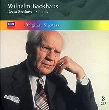 Original Masters  Decca Beethoven Sonatas: Wilhelm Backhaus