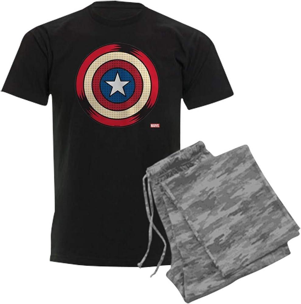 Al half sold out. CafePress Captain America Comic Set Pajama Shield