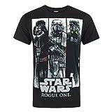 STAR WARS Rogue One Character Panels Men's T-Shirt (XL)