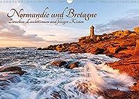 Normandie und Bretagne: Zwischen Leuchttuermen und felsigen Kuesten (Wandkalender 2022 DIN A3 quer): Die raue Schoenheit der franzoesischen Atlantikkueste (Monatskalender, 14 Seiten )
