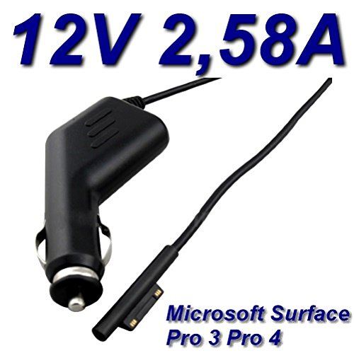 Autolader 12 V 2,58 A voor Tablet Microsoft Surface Pro4
