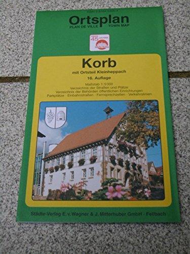 Korb i.R: 1:5000. Ausgabe 1999 (Städte-Verlag Stadtpläne)