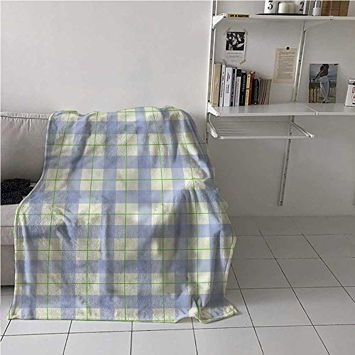 Throw Blanket Checkered Higher End Throws Blanket Classical Celtic Tile Blanket for Your Family 70x84 Inch