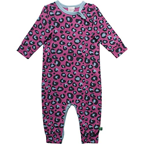 Fred'S World By Green Cotton Animal Bodysuit Body, Violet (Violet 018302708), 95 (Taille Fabricant: 80) Bébé Fille