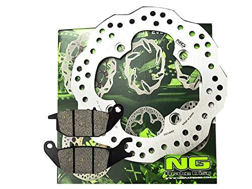Bremsscheibe Wave hinten Ersatzteil für/kompatibel mit Honda CB 125 R/Varadero XL 125 V + Bremsbelag