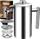 51NViAJlC4L. SL160 Utopia Kitchen, la cafetière à piston isotherme