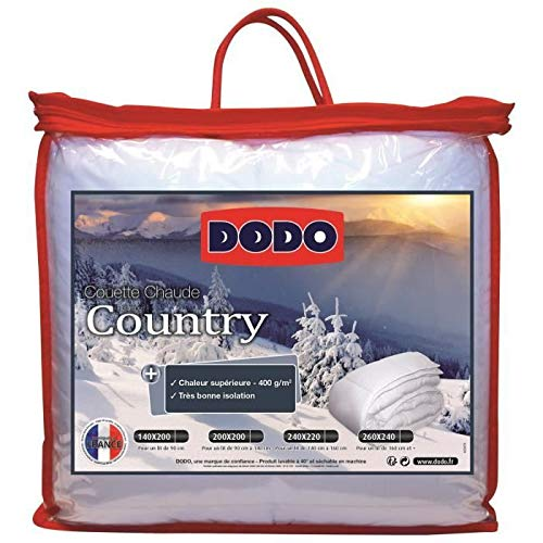 Dodo - Couette 400g Country 240x260cm
