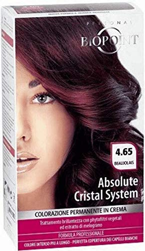 BIOPOINT Absolute Cristal System - 4,65 Beaujolais Tönungsfarbe Haar