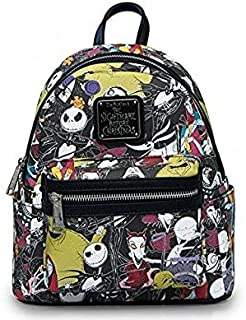 Loungefly The Nightmare Before Christmas Allover Print Character Mini Backpack