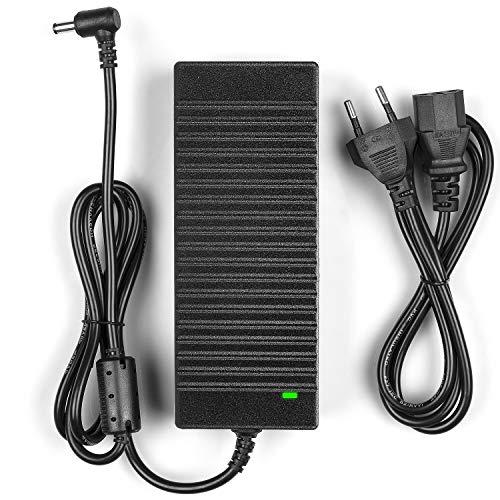 LEDMO 12V 10A Caricabatteria Notebook Adattatore PC Portatile Alimentatore 120W per AC a Dc Convertitore Adattatore di Alimentazione