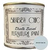 'Muebles Color, a base de tiza, Shabby Chic de estilo de, color:'stau biges Azul, 250ml