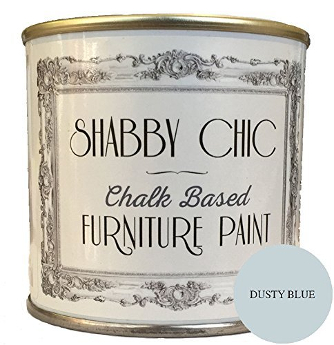 'Muebles Color, a base de tiza, Shabby Chic de estilo de, color:'stau biges Azul, 250 ml