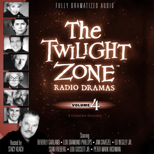 The Twilight Zone Radio Dramas, Volume 4 copertina