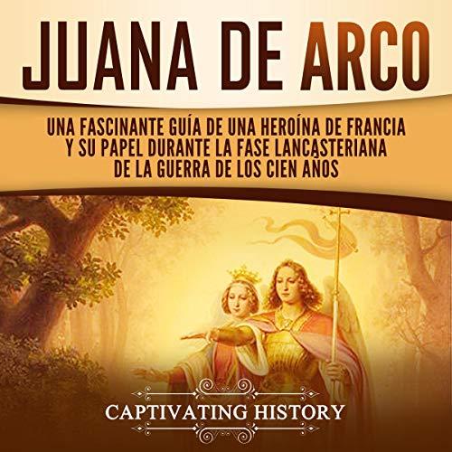 Diseño de la portada del título Juana de Arco