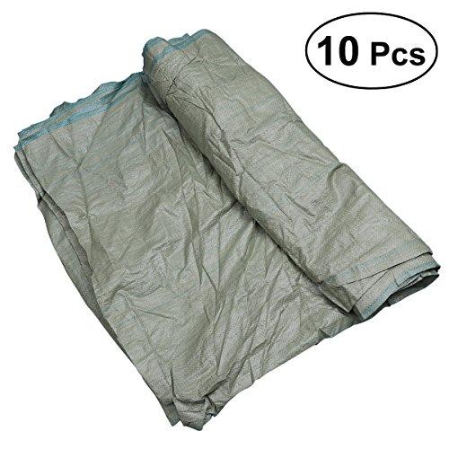 OUNONA - Lot de 10 sacs en plastique polypropylène tissé - Sacs pour emballage