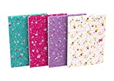 Oxford Floral - Pack de 10 blocs grapados, A6, patrones florales