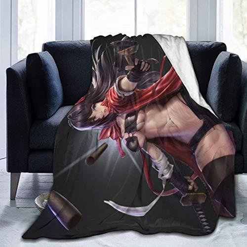 Akira-Tseng-The-Killer-Girl- Decken für Erwachsene und Kinder, 152,4 x 127 cm