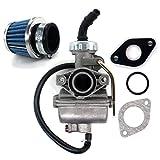 AISEN Carburetor for Taotao ATA110 ATA110B ATA110D ATA110F ATA110L ATV Air...