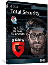 G DATA Total Security 2019 | 10 PCs | Windows | Antivirus Protection | Firewall | Backup | Trust in German Sicherheit