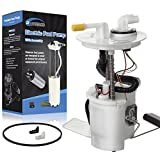 POWERCO Electric Fuel Pump Module Assembly E2435M Compatible with Taurus V6-3.0L 04-07 Compatible with Sable V6-3.0L 04-05 4F1Z9H307AA, 4F1Z9H307AB, 5F1Z9H307A, SP2435M F1446A 69154