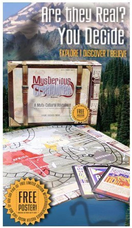 Mysterious Creatures Board Game by Education Outdoors (English Manual) B00OVMU1WK Angemessene Lieferung und pünktliche Lieferung | Um Zuerst Unter ähnlichen Produkten Rang